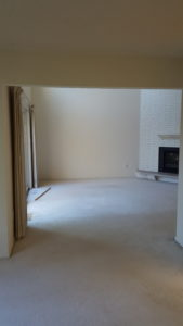 a photo of the living room before